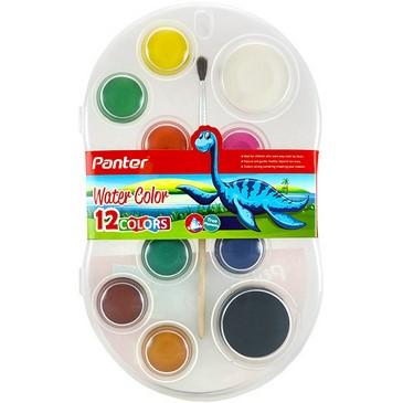 آبرنگ دوازده رنگ پنتر مدل WC 101