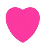 نوت استیک Heart صورتی پنتر؛ مدل ST 643
