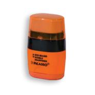 تراش + پاک کن توئین نئون سافت تاچ نارنجی پیکاسو