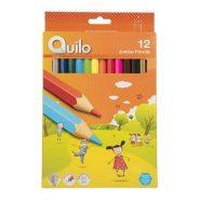 مداد رنگی 12 رنگ جامبو کوئیلو
