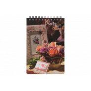 دفتر یادداشت عروسکی پاپکو کد NB-649-G طرح 20-1216