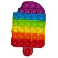 پاپ ایت رنگین کمانی بستنی