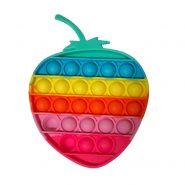 پاپ ایت رنگین کمانی توتفرنگی