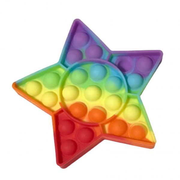 پاپ ایت رنگین کمانی ستاره